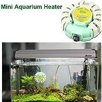 Bargain World Calentador automático de tanque de peces de mini acuario Sunsun calentadores anti