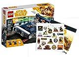 Star Wars LEGO Han Solo's Landspeeder 75209 Spielzeug Han Solo Stickerbogen
