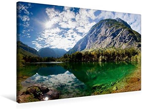 Premium Textile Toile de de de 45 cm x 30 cm paysage bluntausee – Golling 0ebbcf