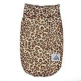 SOMESUN Haustier Hunde Bekleidung Mini Hündchen Welpe Winter Wamer Süß Modisch Leoparden Hundemantel Sweater Gemütlich Weich Baumwolle Elastisch Hundejacke Shirt