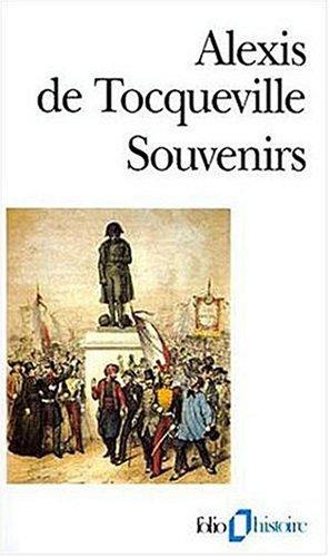 Souvenirs (Folio Histoire) por Alexis de Tocqueville