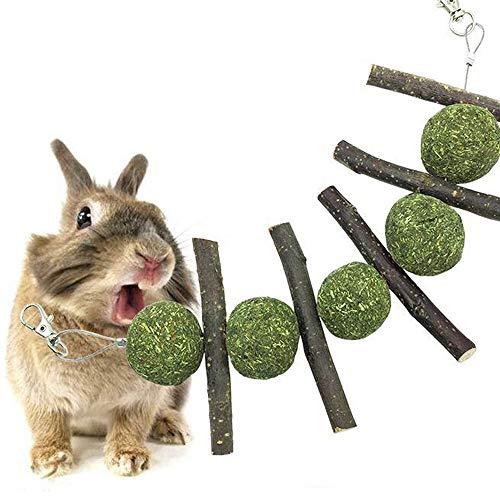 UMIWE Friandises Jouets pour Lapin Hamster Nourriture...