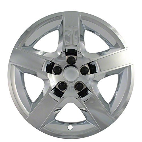 2005, 2006, 2007, 2008, 2009 Pontiac G6 Chrome Factory Replica Wheel Covers / Hubcaps (Set of 4) - 17 by DeluxeAuto