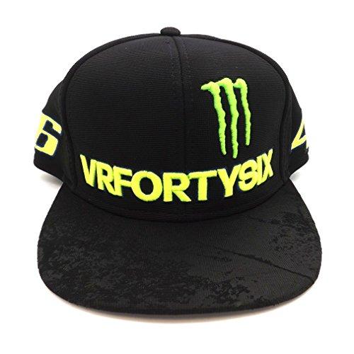 Valentino Rossi VR46 Moto GP Monster Energy Kappe Offiziell 2017