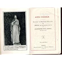 """Argi Donea. / Argia-ren Batzaldian saritua. (Patrocinado por """"Argia"""")"""