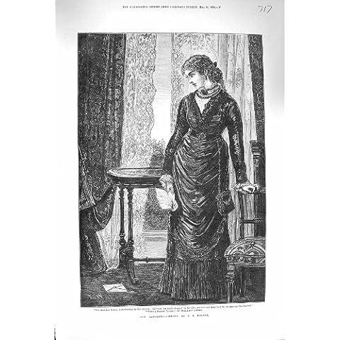 Camminatore 1875 della Finestra della Camera della Giovane Donna di Lois Lancaster