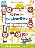 Zahlenrätsel: 50 Karten mit abwischbarem Stift