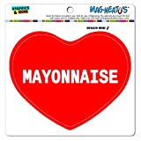 Graphics and More Mag-Neato 's-TM Auto Kühlschrank Vinyl Magnet I love Herz Food m-o, Mayonnaise