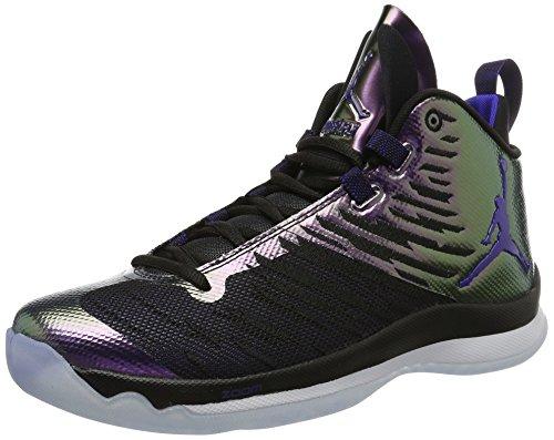 Nike 844677-012, espadrilles de basket-ball homme Noir