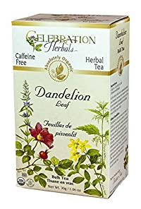 Celebration Herbals Dandelion Leaf Tea Organic Loose Pack