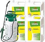 ENVIRA Wespenvernichter 4x2Ltr + 5Ltr Drucksprüher