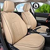 Pegasus Premium PU Leather Car Seat cover Beige - Best Reviews Guide