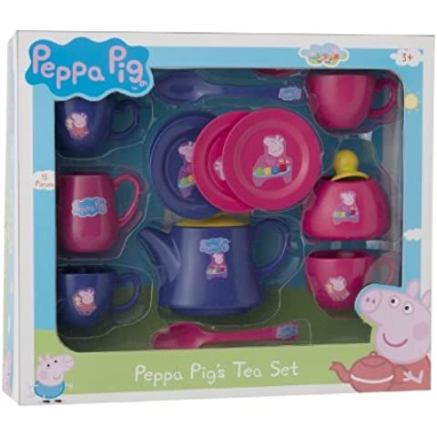 Peppa Pig - Set de te plástico (HTI 0435)