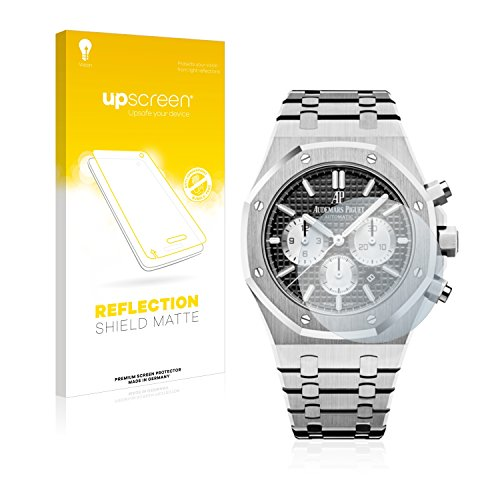 upscreen Reflection Shield Protector Pantalla Mate Audemars Piguet Royal Oak (41 mm) Película – Antireflejos, Anti-Huellas