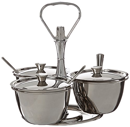 Winco 3-Unit Relish Server Relish-server