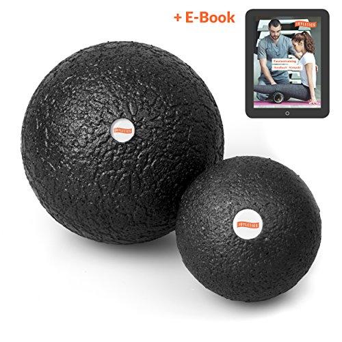 Joyletics® Faszienball »single ball set« ideal für die Selbstmassage des Bindegewebes | Faszientraining mit der Faszienrolle als praktisches Ballset für eine tiefgreifende Massage