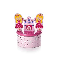 Princess Music Box with Twinkle Twinkle Little Star Music Gift for Girls
