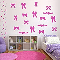 Arco e nastri Sagoma Gruppo Wall Stickers Creative Multi pack Adesivo Art disponibile in 5 (Archi Wall Art)