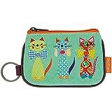 Santoro Porte-feuille avec porte-clés Motif chats avec nœuds papillons