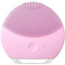 YIBEN Esponja limpiadora de Silicona para la Cara, Cepillo y masajeador Facial eléctrico Resistente al