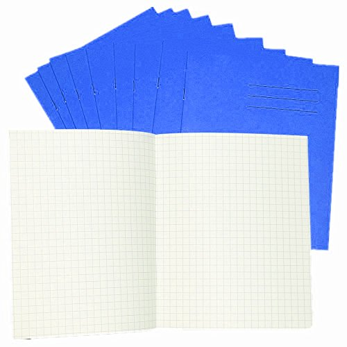 crazygadgetr-school-office-math-exercise-book-7mm-squares-32-pages-202x166mm-yellow-pack-of-10