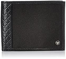 Louis Philippe Black Mens Wallet (LPU8514082)