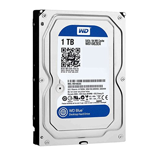 Western Digital WD10EZEX - WD 1TB Caviar Blue 64 MB 7200RPM 8,9 cm Desktop SATA 6 Gb/SEC INTERNAL HDD