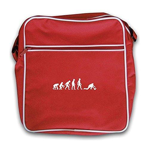 Dressdown Evolution Of Man Curling - Retro Flight Bag Red
