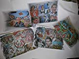 5 verschiedene Kunstdrucke mit FC Bayern Legenden -ABER NUR 3 STÜCK BEZAHLEN - -direkt vom Künstler 30cm x42