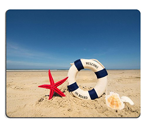 msd-natural-rubber-gaming-mousepad-image-id-30450581-estate-in-spiaggia-con-life-saver-stelle-marine