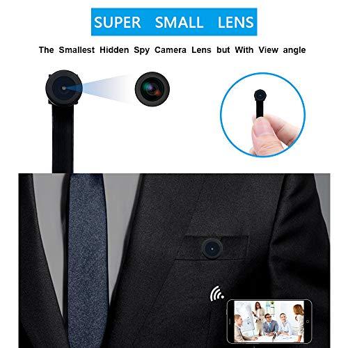 Mini WiFi Telecamera UYIKOO Hidden Spy Camera 1080P HD Telecamera Wireless Rilevazione Movimento con Angolo di visione Ampio Supporto 140 ° per Android/iPhone - 5