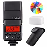 EACHSHOT Godox TT350S 2.4G HSS 1/8000s TTL GN36 Wireless Speedlite Flash for Sony