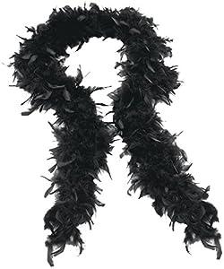 Gifts 4 All Occasions Limited SHATCHI-1131 SHATCHI-Gifts 4 All Occasions LTD Black - Boas para despedida de soltera (80 g, 180 cm), color negro