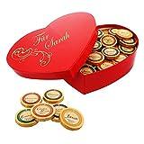 Premium-Schoko-Herzbox mit Namens-Gravur - das außergewöhnliche Geschenk zum Valentinstag
