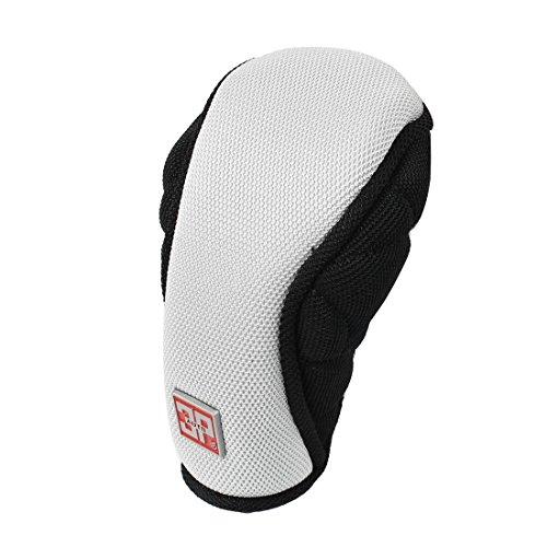Sourcingmap schwarz grau Nylon Auto Shift Hand Schaltknauf Hebel Cover Protector