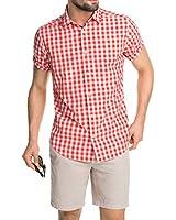 ESPRIT Men's Short Sleeve Casual Shirt