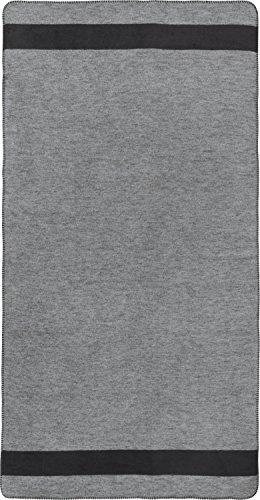 Erwin Müller Sofaläufer Baumwollmischung grau Größe 100x200 cm