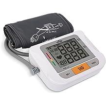 SIMBR Misuratore di Pressione Elettronico Arteriosa Digitale Automatico da Braccio con La Funzione di Memoria?2*90?Bracciale 22-32cm