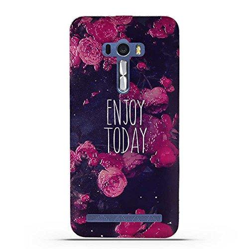 Fubaoda ASUS ZenFone Selfie ZD551KL Hülle, 3D Erleichterung Gute Qualität Muster TPU Case Schutzhülle Silikon Case für ASUS ZenFone Selfie ZD551KL