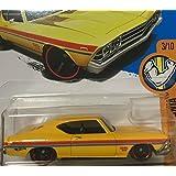 HOT WHEELS Hot Wheels '69 Chevelle Chevelle SS 396 Yellow # 263