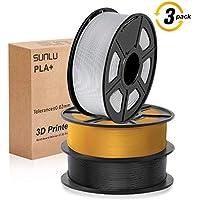3D Printer Filament, PLA plus Filament 1.75mm, 3D Printer Filament PLA+