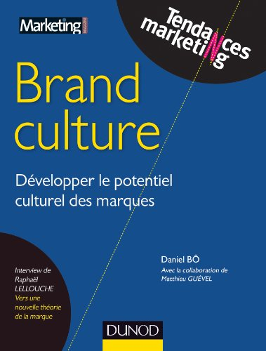 Brand Culture : Développer le potentiel culturel des marques (Tendances Marketing) par Raphaël Lellouche