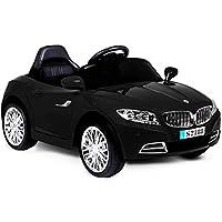 Volete che il vostro bambino guidi una macchina super accessoriata in totale sicurezza? Questa sportiva coupè modello cabrio in colore nero, con il suo design accattivante e la massima cura ai dettagli, è una garanzia per il divertimento dei più picc...