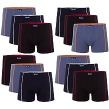 7dcc2b1a81 12 Oder 6 Weiche Farbige Herren Retro Pants Boxershort Elastische mit  Elastan und