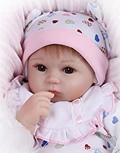 Buy My home 16 Silicone Reborn Baby Doll Toys Online at ...