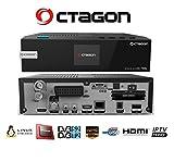 Octagon SF228 Twin LCD E2 Full HD Linux Receiver, 1x DVB-S2 1x DVB-C/T2