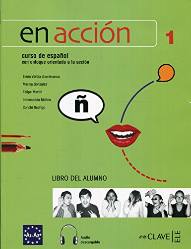 En Acción 1 - libro del alumno + CD audio
