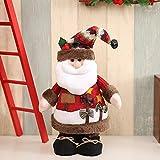 Weihnachts Dekoration DIY Schneemann Elch Alter Mann FigüRchen Weihnachtsschmuck Weihnachtsgeschenke Filz Stoff Ornamente Puppen Weihnachtsanhänger Christbaum Weihnachtsbaumschmuck