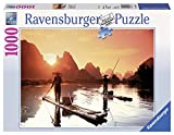 Ravensburger 19085 - Puzzle, Pescatori al tramonto, 1000 pezzi