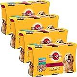 Pedigree Set de 4 x 3 Boîtes de Terrines aux Viandes pour Chien 1250 g